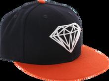 Diamond - Brilliant Hat 7 - 3 / 8 Navy / Org