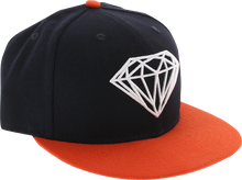 Diamond - Brilliant Hat 7 - 5 / 8 Navy / Org