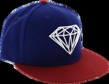 Diamond - Brilliant Hat 7 - 5 / 8 Royal / Red