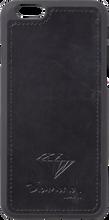 Diamond - Iphone - 6 Leather Case Black