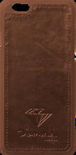 Diamond - Iphone - 6 Leather Case Brown