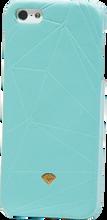 Diamond - Iphone5 Slider Case - Leather Dmnd. Blu Sale