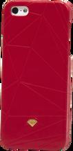 Diamond - Iphone5 Slider Case - Leather Red Sale