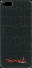 Diamond - Iphone5 Croc Case Black Sale