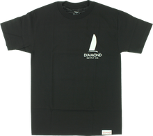 Diamond - Boat Life Ss S - Black - Skateboard Tshirt