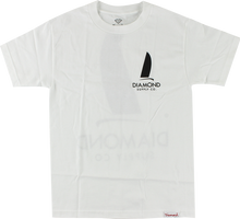 Diamond - Boat Life Ss Xl - White - Skateboard Tshirt