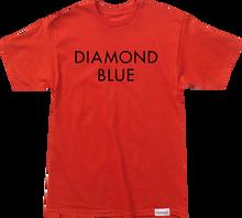 Diamond - Blue Ss Xl - Red / Blk - Skateboard Tshirt
