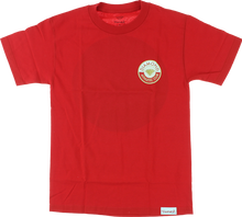 Diamond - Athletic Club Ss Xxl - Red - Skateboard Tshirt