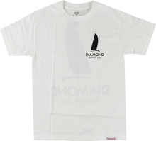 Diamond - Boat Life Ss Xxl - White - Skateboard Tshirt
