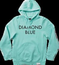 Diamond - Blue Hd / Swt Xxl - Diamond Blue / Blk - Skateboard Sweatshirt