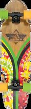Dusters - Flashback Complete - 7x31 Tie Dye Rasta - Complete Skateboard