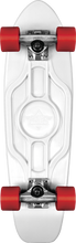 """Dusters - Mighty Cruiser Complete - 25""""wht / Red Chkr.pc - Complete Skateboard"""