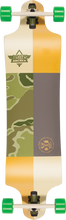 Dusters - Scout Dt Lb Complete - 9.75x38 Org / Camo / Grn - Complete Skateboard