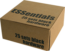 "Essentials - (25 k) Black 1"" Hardware Ppp"