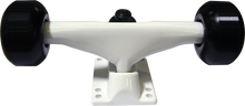 Essentials - Assembly White W / Blk 52mm Ppp - (Pair) Skateboard Trucks