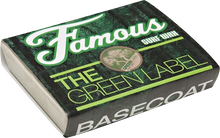 Famous - Green Label Basecoat Single Bar Wax Organic - Surfboard Wax