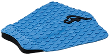 Famous - Deluxe F3 3pc Blue Traction - Surfboard Traction