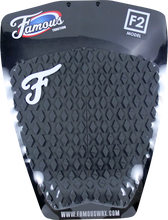 Famous - Deluxe F2 2pc Grey Traction - Surfboard Traction