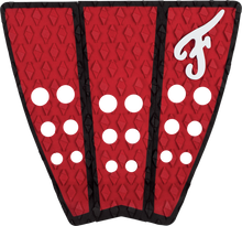 Famous - Hatteras 3pc Red / Blk Traction - Surfboard Traction