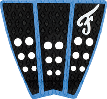Famous - Hatteras 3pc Blk / Blu Traction - Surfboard Traction