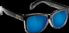 Glassy Sunhaters - Deric Blk / Blue Mirror Sunglasses