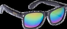 Glassy Sunhaters - Leonard Blk / Colored Mirror Sunglasses