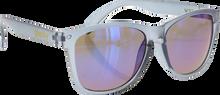 Glassy Sunhaters - Deric Clr.grey / Blu Mirror Sunglasses