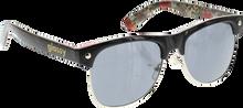 Glassy Sunhaters - Shredder Blk / Floral Cheetah Sunglasses