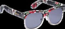 Glassy Sunhaters - Shredder Blk / Floral Sunglasses