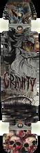 "Gravity - Edwards 40"" Skull Beach Complete - 9x40 - Complete Skateboard"