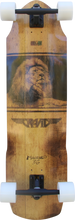 """Gravity - Miura 36"""" Complete - 10x36 / 21.75 - 23.75wb - Complete Skateboard"""