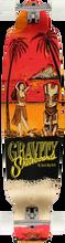 Gravity - Big Kick Tequila Sunrise Red Comp - 10.2x45 - Complete Skateboard