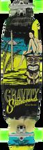 "Gravity - Mini - Kick 40"" Mai Tai Yel Complete - 9.75x40 - Complete Skateboard"