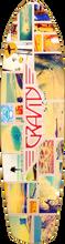 """Gravity - Classic Cruiser 36"""" Moonlight Deck - 9.5x36 - Skateboard Deck"""