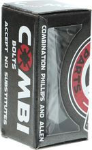 "Independent - Single Set 7 / 8"" Combi Bolts Black Hardware"