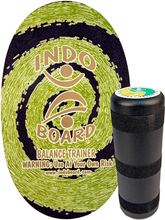 Indoboard - Deck / Roller Kit Green - Balance Board