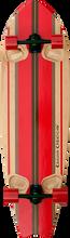 "Kahuna Big Stick - Shaka Surf 46"" Complete - 13.7x46 Nat / Red - Complete Skateboard"