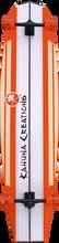 "Kahuna Big Stick - Bombora 59"" Complete - 14x59 Coral Orange - Complete Skateboard"