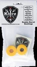 Khiro - Double Barrel Bushing Set 92a M - Hard Yellow - Skateboard Bushings