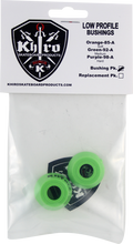 Khiro - Low - Pro Bushing Set 92a Med Lime Grn - Skateboard Bushings