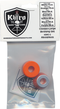 Khiro - Lg - Insert / Lg - Brl Bushing Set 79a M - Soft Orn - Skateboard Bushings