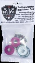 Khiro - Dbl - Barrel Bushing / Wash Kit 99a X - Hard Purp - Skateboard Bushings