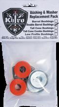 Khiro - Dbl - Barrel Bushing / Wash Kit 79a M - Soft Orng - Skateboard Bushings