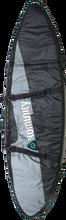 Komunity Project - Double Traveler Board Bag 6' Grey / Blk - Surfboard Boardbag