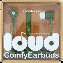 Loud Headphones - Jason Jessee Fat & Flat Earbuds Army / Wht