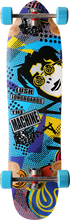 Lush - Machine 80's Complete - 9.87x38 / 24.25 - 25wb - Complete Skateboard