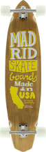 Madrid - The Dude Surftype Complete - 9.5x38.75 Bamboo - Complete Skateboard