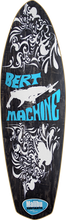 Malibu Surfskates - Bert Machine Deck - 9x30 / 17wb Black - Skateboard Deck