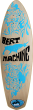 Malibu Surfskates - Bert Machine Deck - 9x30 / 17wb Natural - Skateboard Deck