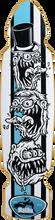 Malibu Surfskates - Monsters Deck - 9.2x38 / 22wb - Skateboard Deck